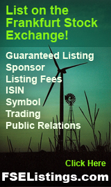 FSE Listings: Wind Energy Financing